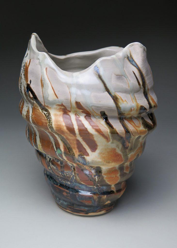 """The Burn"" - a decorative ceramic piece by Luke Metz"
